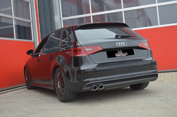 76mm Single-Anlage mit Soundgenerator, Audi A3 8V Sportback Frontantrieb