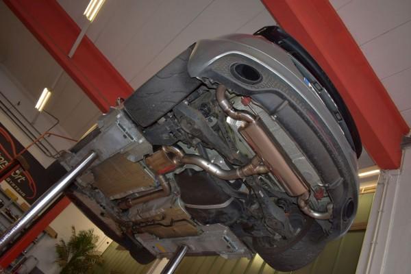 76mm Duplex-Anlage mit Klappensteuerung, Audi TT 8J Frontantrieb