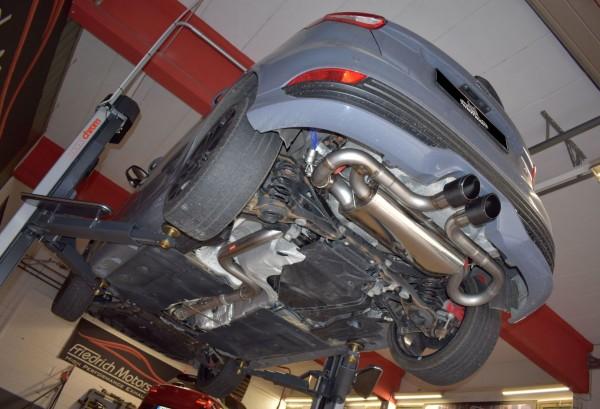 76mm Duplex-Anlage mit Klappensteuerung, Ford Focus MK3 (DYB) ST 5-Türer