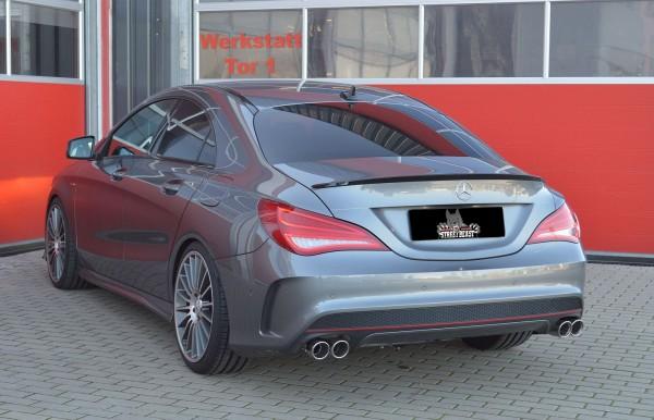 76mm Duplex-Anlage mit Klappensteuerung, Mercedes C117 CLA-Klasse