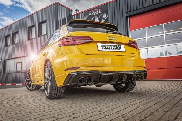 76mm Duplex-Anlage mit Klappensteuerung, Audi A3 8V Sportback Quattro