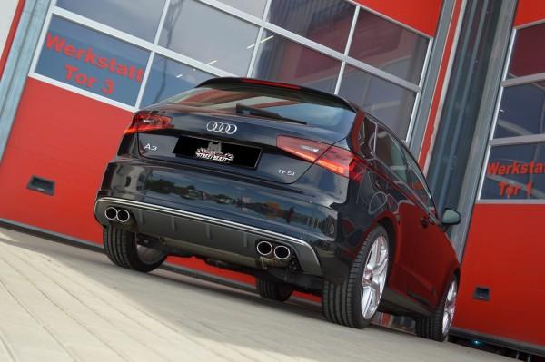 76mm Duplex-Anlage mit Soundgenerator, Audi A3 8V 3-Türer Frontantrieb
