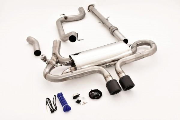 76mm Duplex-Anlage mit Klappensteuerung, Ford Focus MK3 (DYB) ST Turnier