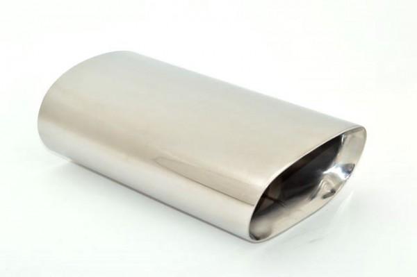 Endrohr 90x170mm oval abgeschrägt breite Kante