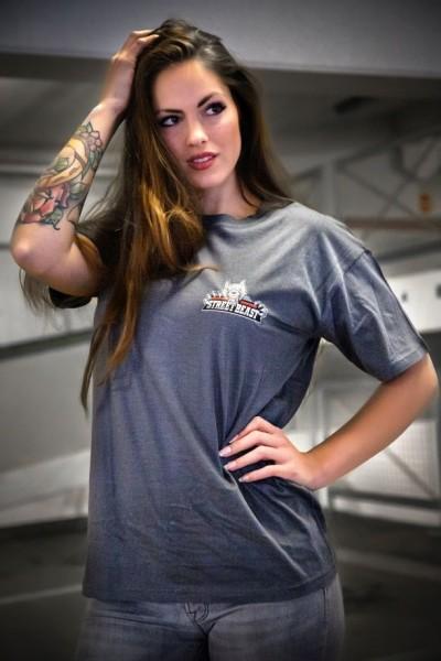 T-Shirt STREETBEAST grau Gr. S