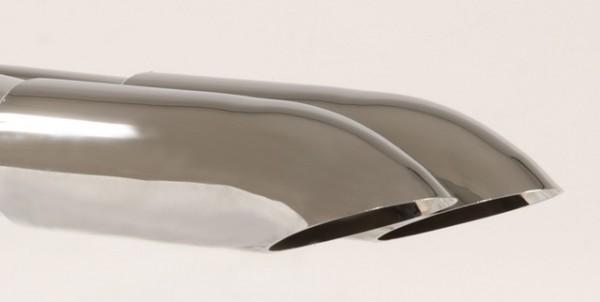 Endrohr 2x70 Dieseloptik