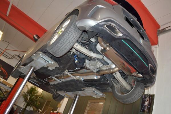76mm Duplex-Anlage mit Klappensteuerung, Mercedes W176 A-Klasse